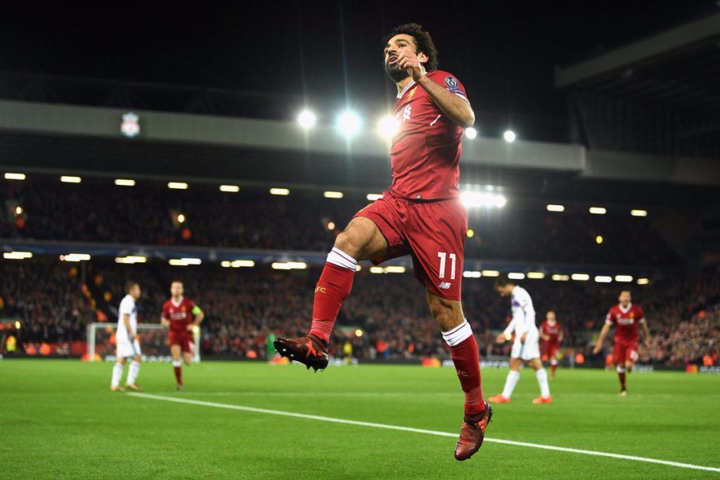Liverpools's main man Mohamed Salah