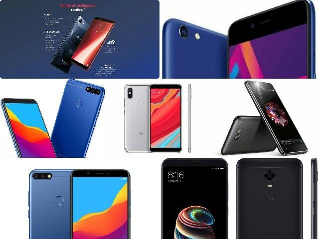 Best Smartphones Under Rs.10,000 ($145) for July 2018