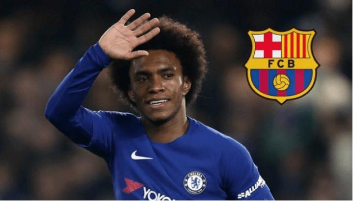 Barcelona bid £55m for Willian