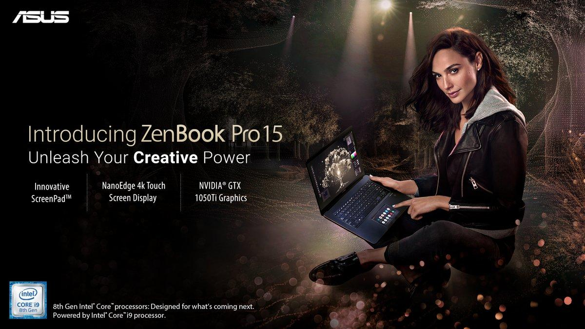 ASUS Zenbook Pro with Screenpad launched in India