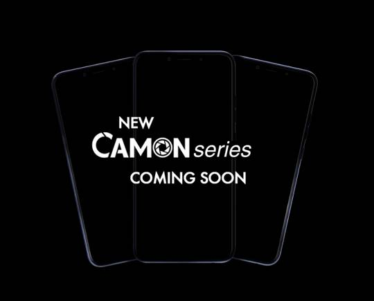 Exclusive!!! New Tecno Camon series with Notch display, dual cameras coming soon