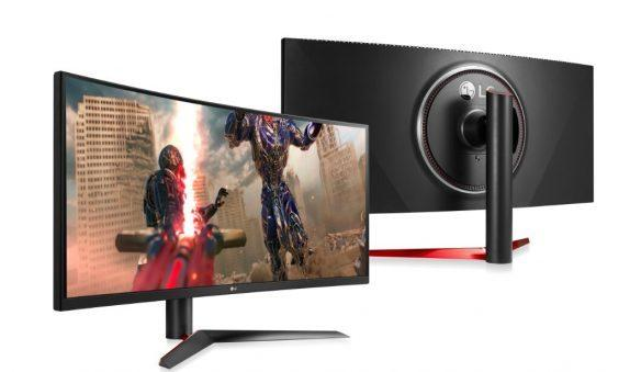 LG 38-inch ULTRAGEAR GAMING MONITOR_technosports.co.in