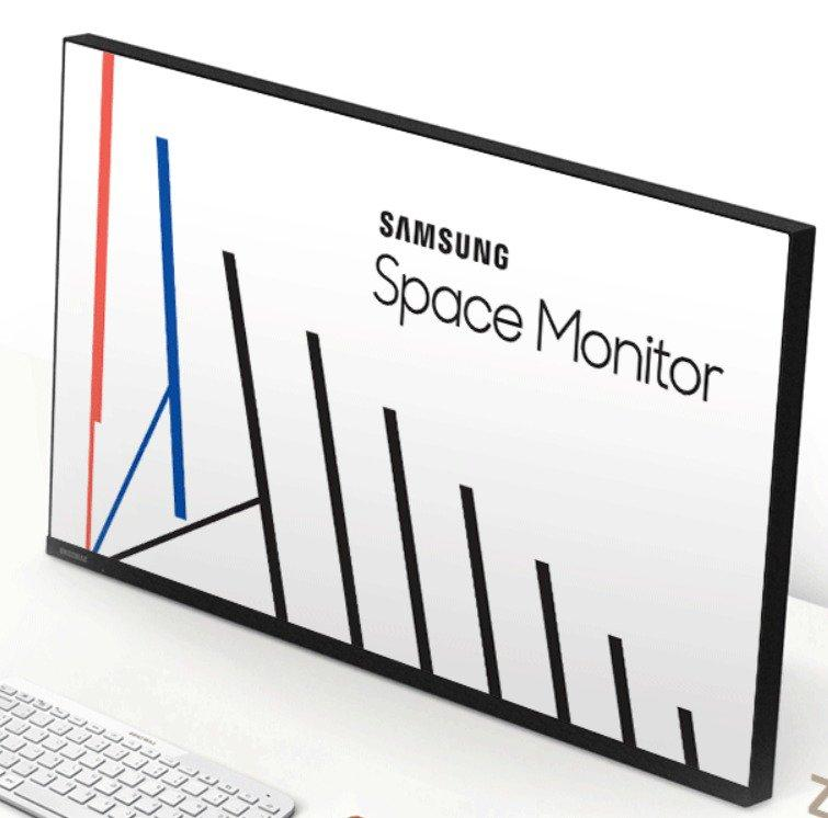 Samsung Space Monitor_technosports.co.in