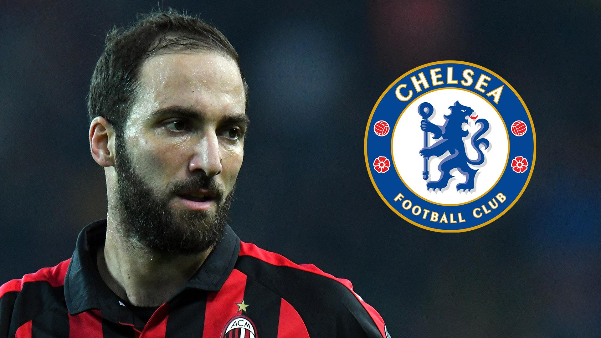 higuain to chelsea from ac milan