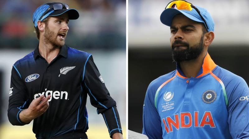India seal series 3-0, beat New Zealand by seven wickets in third ODI, Rohit and Virat scored half centuries.