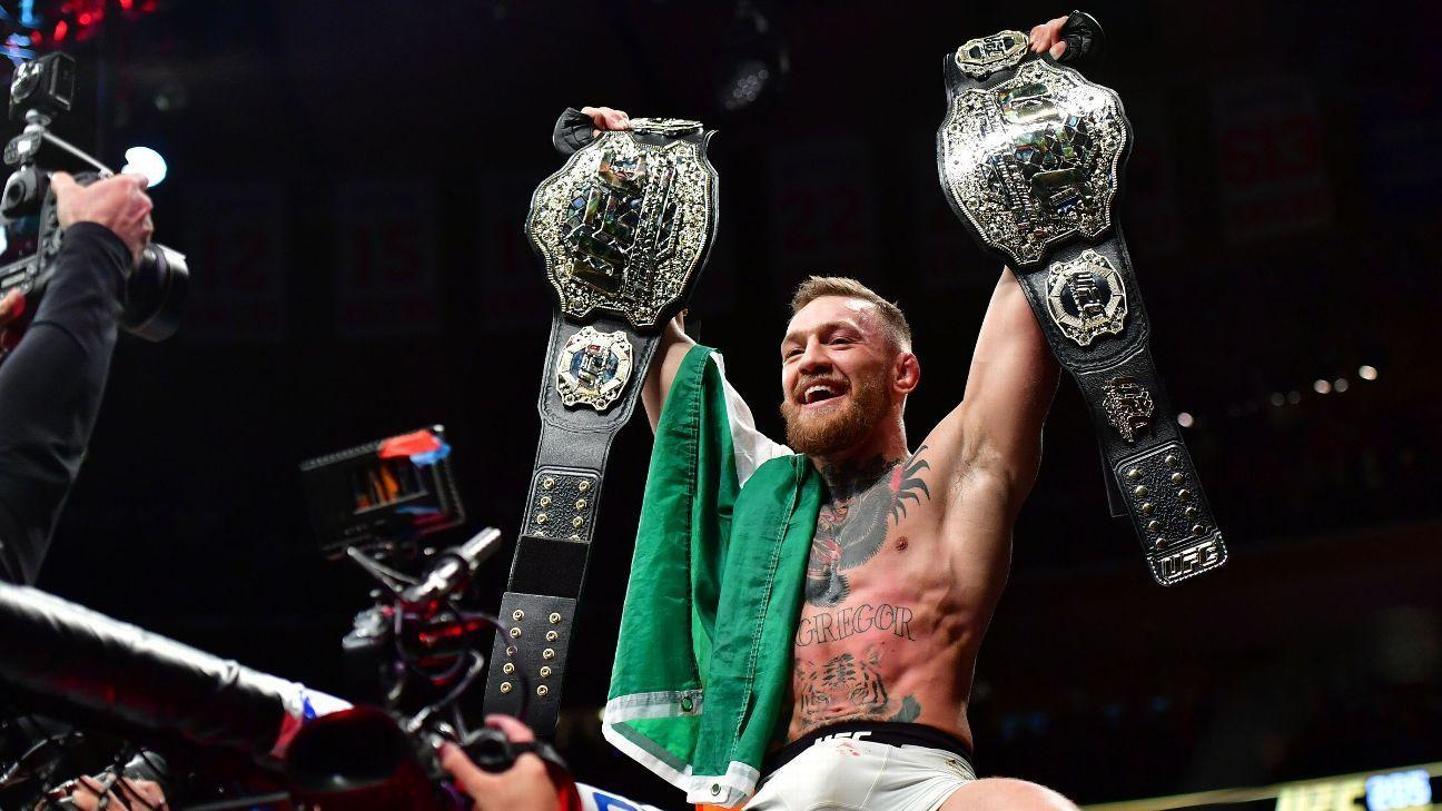 Conor McGregor UFC star announces retirement from Mixed Martial Arts