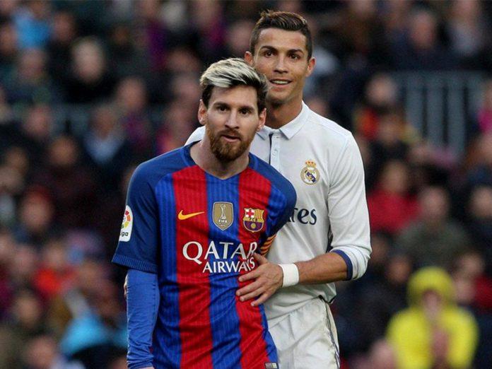 Messi and Ronaldo