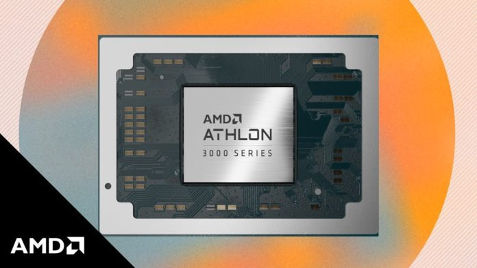AMD launches Athlon 3000 APUs for laptops with 15W TDP