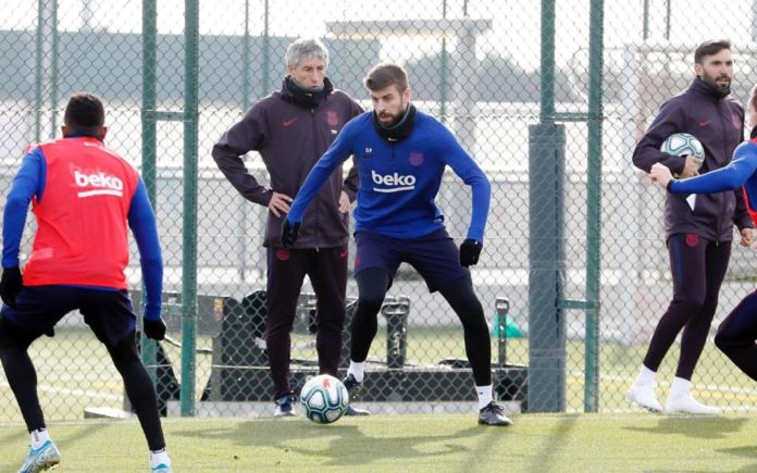 Setien says he's not Pique's father – he'll only worry if he doesn't train