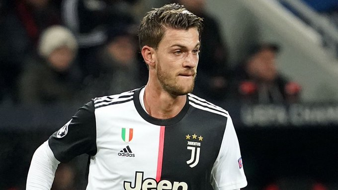 Juventus defender Rugani tests positive for coronavirus but is currently asymptomatic