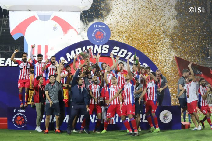 ATK creates history, wins third ISL in style