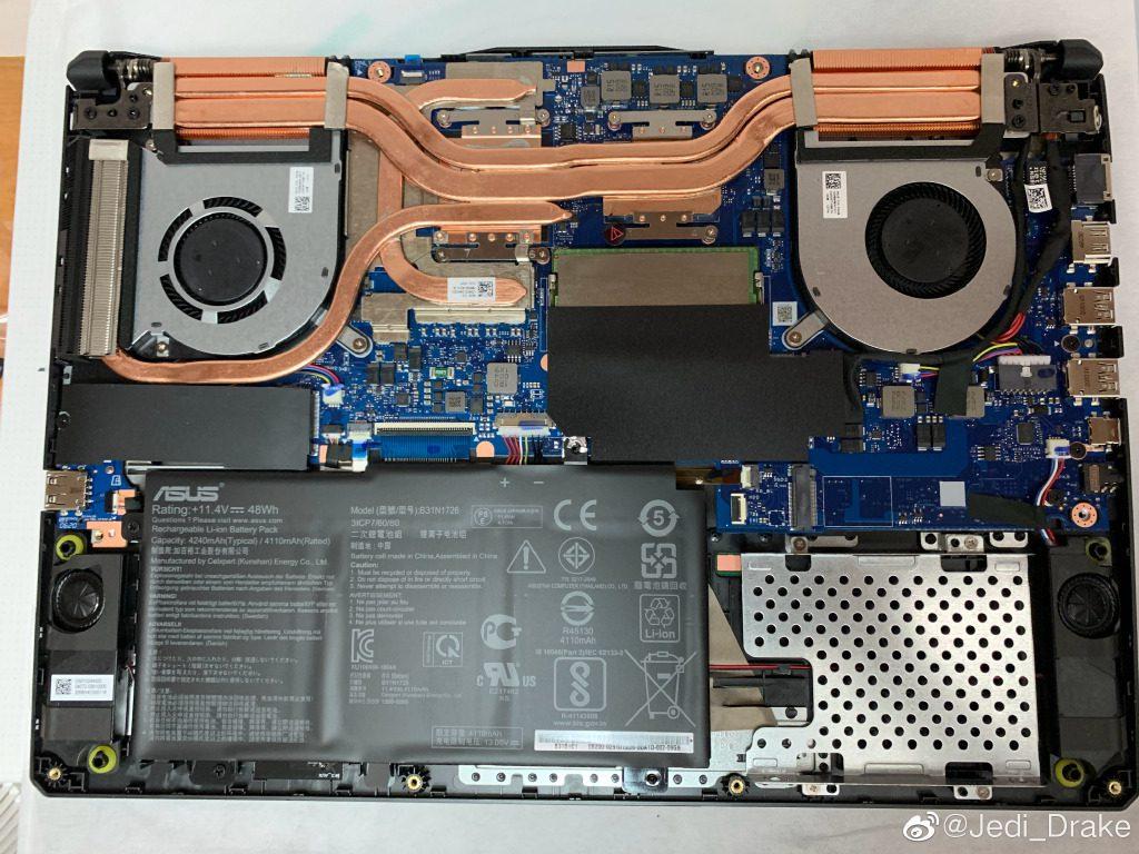AMD Ryzen 7 4800H APU inside a Asus TUF Gaming laptop gives desktop level performance