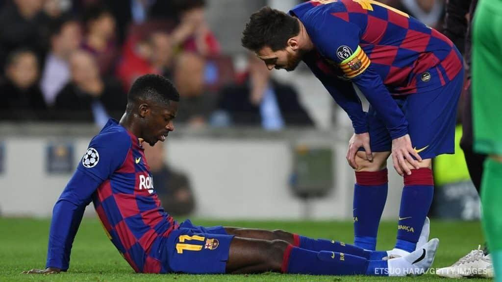 Rivaldo wants Barcelona to sell Ousmane Dembele