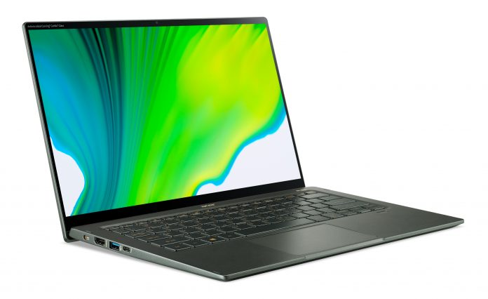 Acer Swift 5 SF514-55 with 11th Gen Intel Tiger Lake CPUs will be launching this fall for $999.99