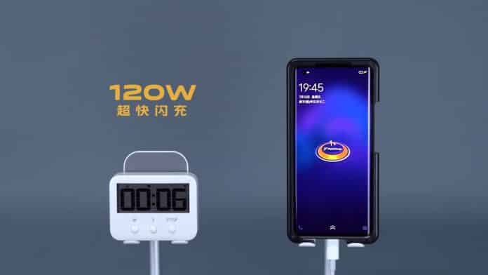 iQOO showcased their 120 charging that can fully charge 4,000mAh in just 15minutes