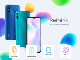 Redmi 9A with MediaTek Helio G25 processor is listed in Xiaomi's Global website