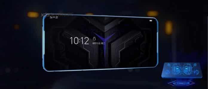 Lenovo Legion smartphone box design and dual linear vibration motors