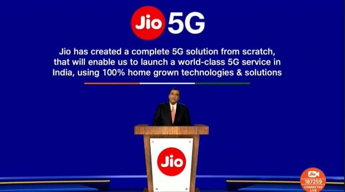 Reliance Jio announces India's own 5G network, will arrive as early as 2021