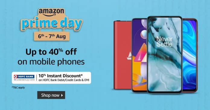 Best Discounts on Premium Smartphone on this Amazon Prime Day - up to 40% off