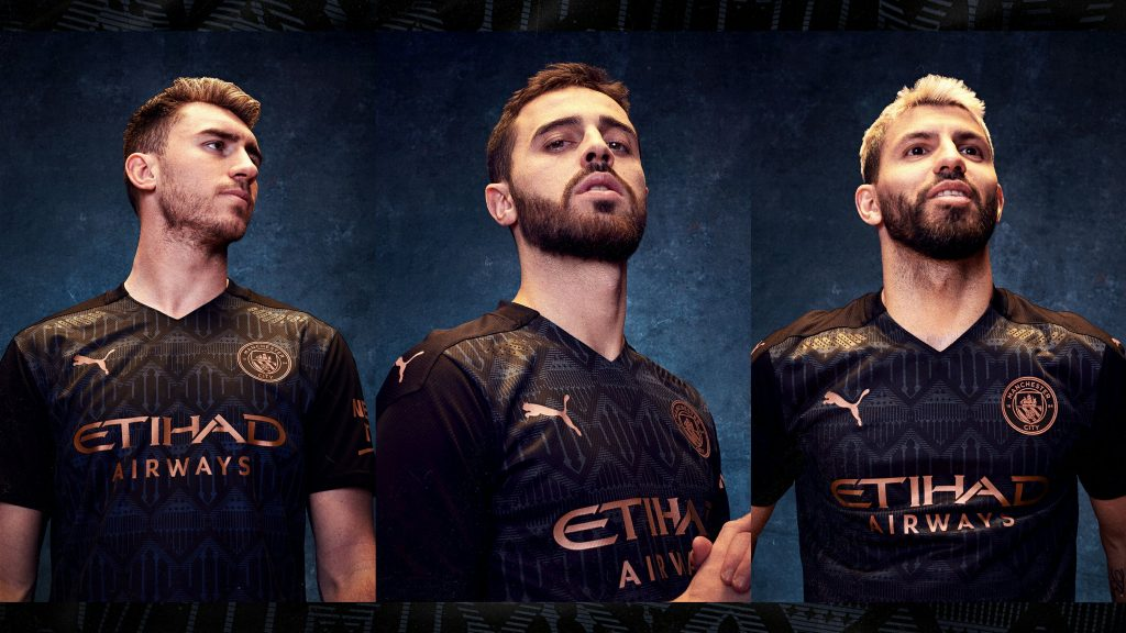 Manchester City unveils their 2020-21 season away kit with Puma: makes the black theme even better