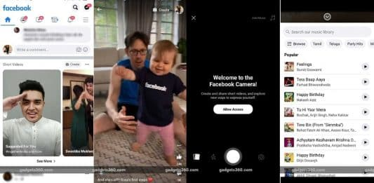 Facebook spotted testing new TikTok-like 'Short Videos' feature inside its app_TechnoSports.co.in