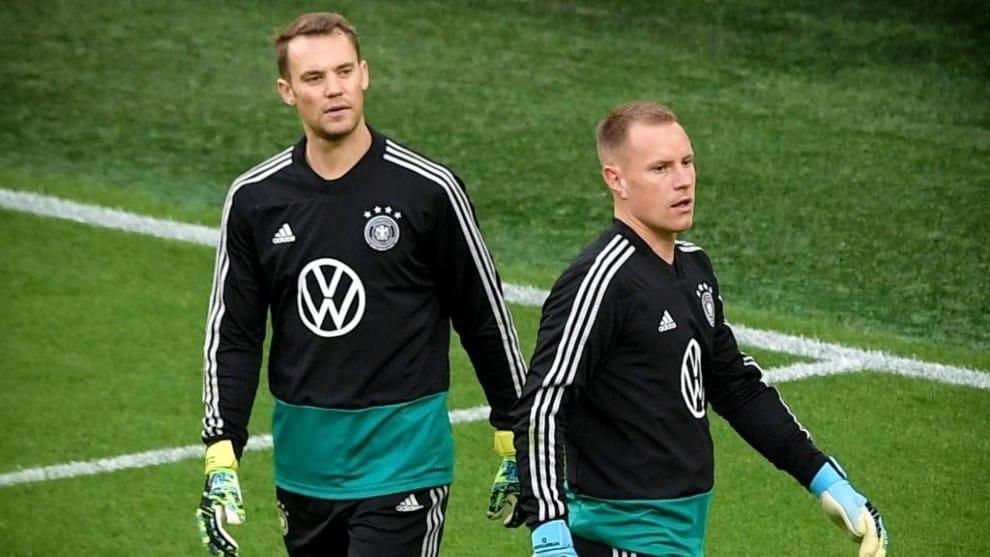 Manuel Neuer feels pity for his German teammate Ter Stegen