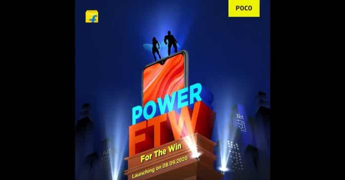 POCO M2 is announced to be launched in India on September 8 via Flipkart