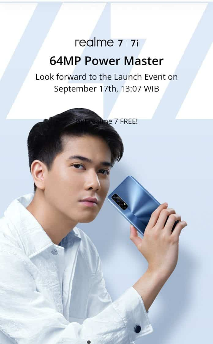Realme 7 and Realme 7i are set to launch in Indonesia on September 17