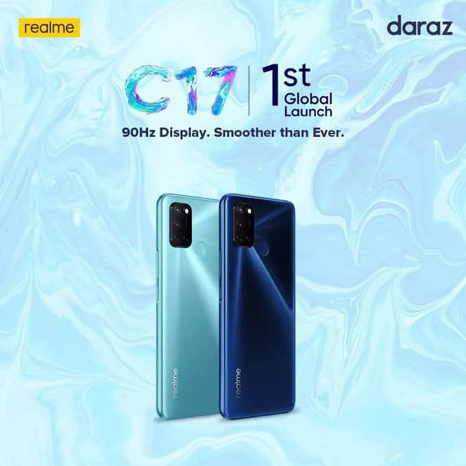 Realme C17 Confirmed With 90hz Display Technosports