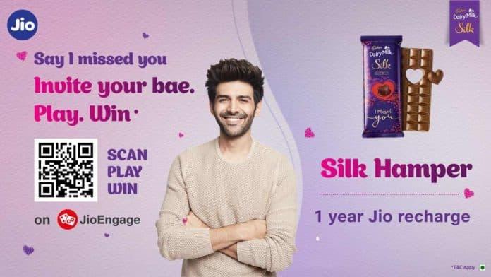 Jio brings new Cadbury - Silk Miss You campaign on JioEngage