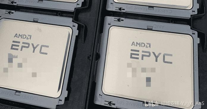 Is this the AMD's next EPYC Milan CPU?