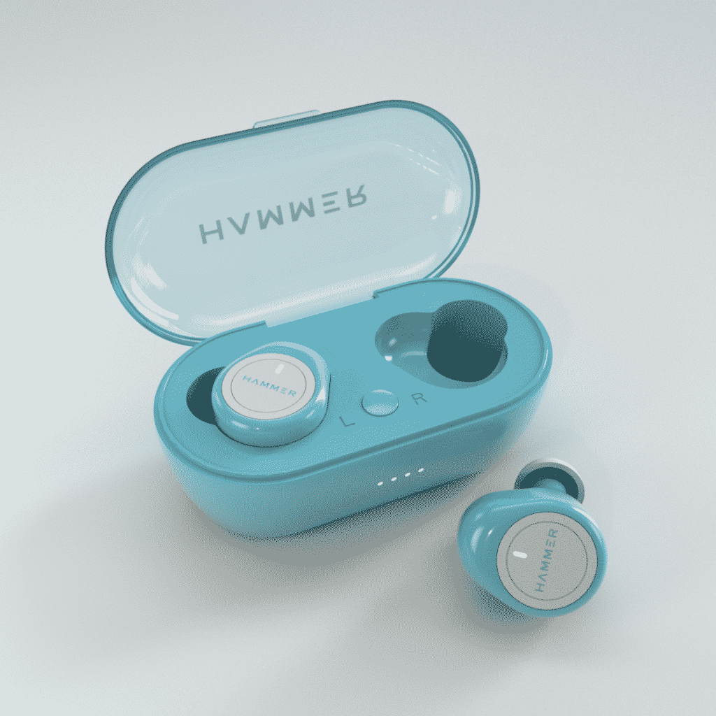 Hammer launches the Blue Airflow Bluetooth Truly Wireless Earbuds TWS with Mic