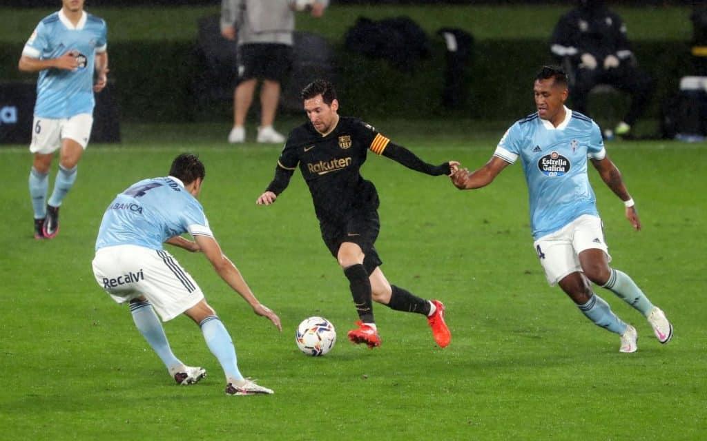 Fati, Coutinho and Messi impress as Barca break the curse of Balaidos