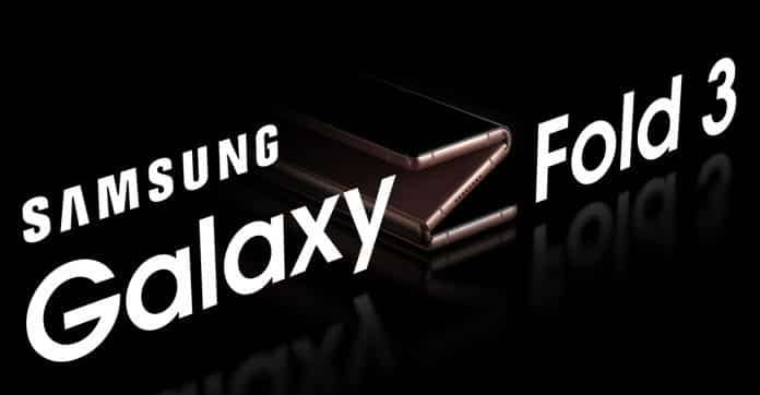 Samsung Galaxy Z Fold 3 is expected to come with two Hinges, Three Folding Screens, and Sliding Keyboard