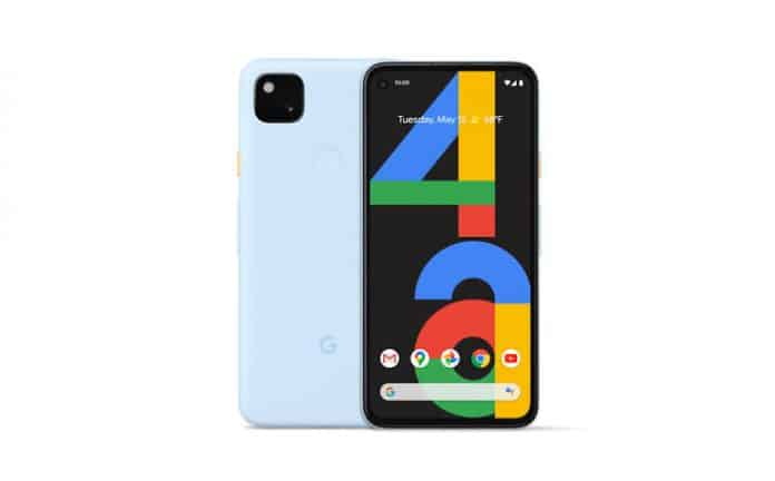 Barely Blue vatiant of Pixel 4a is coming soon in the US and Japan