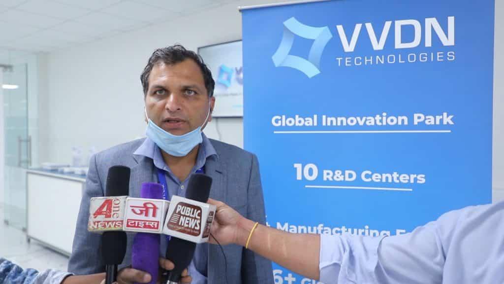 Bhupender Saharan CEO of VVDN_TechnoSports.co.in