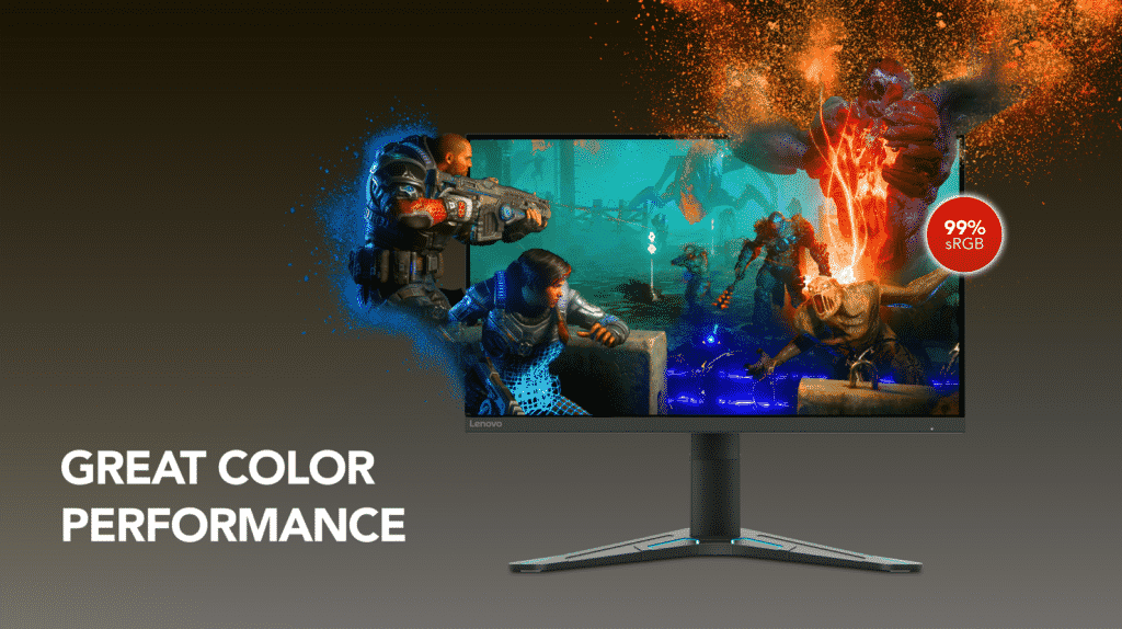 Lenovo introduces two new gaming monitors