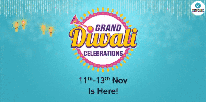 ShopClues' Grand Diwali Sale To Go Live From Nov 11-14; Up to 90% off, 100% cashback on all orders