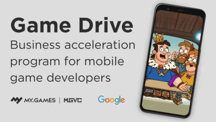 Google and MY.GAMES enters into a partnership called Game Drive