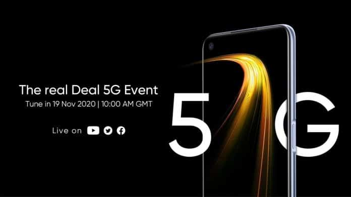Realme 7 5G is launching on November 19