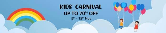 Amazon.in announces 'Kids Carnival'