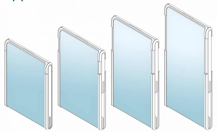 OPPO's new smartphone patent reveals an extendable display