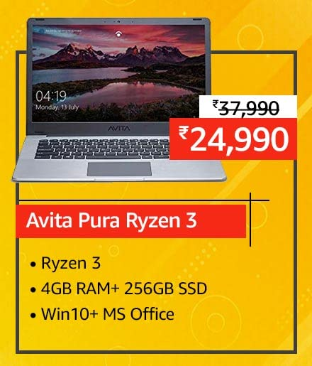 Best laptop deals on Amazon India: up to ₹ 30,000 off and No Cost EMI
