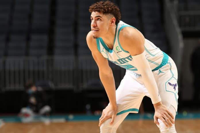 LaMelo Ball played his first game for the Hornets.