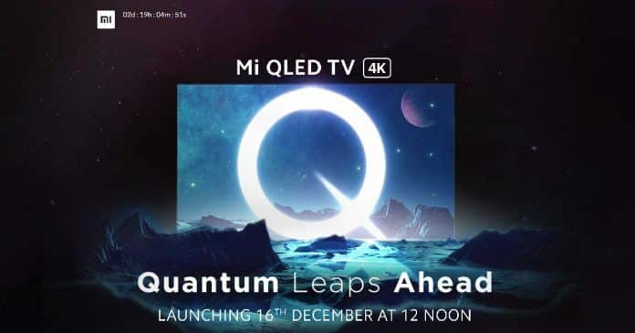 Mi TV Q1 55-inch 4K QLED Retail Box image leaked one day before its launch: Box Price, Specs, and Features Revealed