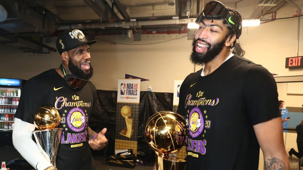 LeBron and Anthony are expected to lead the Lakers to back-to-back Championships.