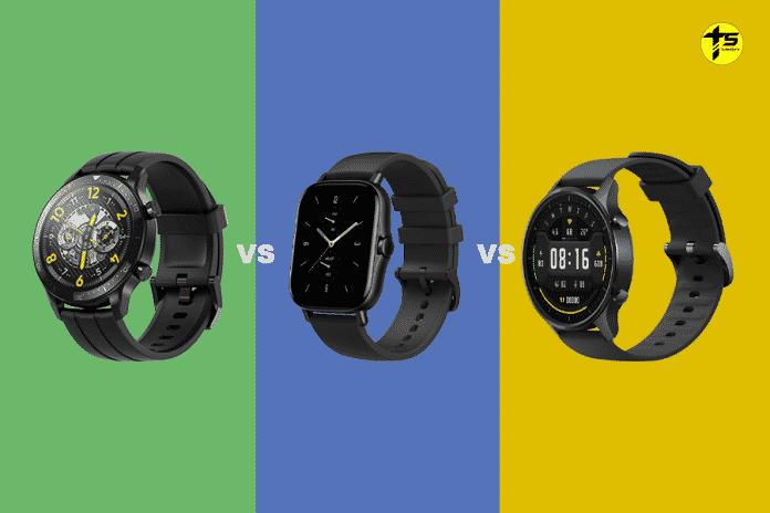 Realme Watch S Pro vs Amazfit GTS 2 vs Mi Watch Revolve - Which one should you buy_TechnoSports.co.in