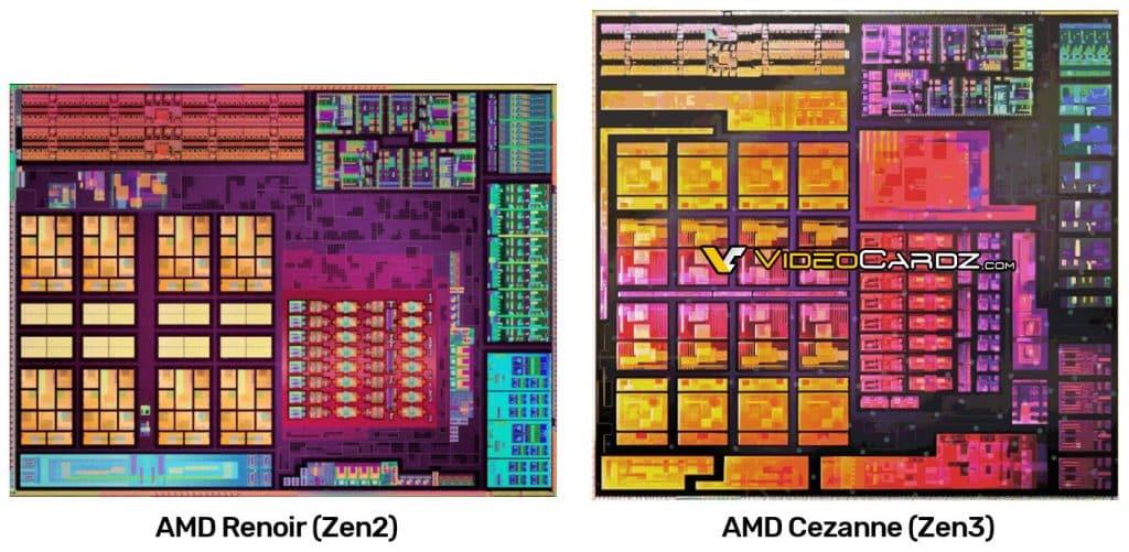 AMD Ryzen 5000 Cezanne APU die render leaked