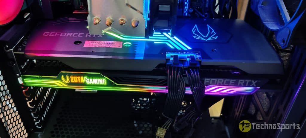 ZOTAC GAMING GeForce RTX 3080 AMP Holo review: Beautiful, Cool & Powerful