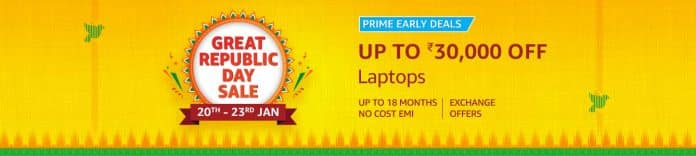 Best deals on Laptops on Amazon Great Republic Day Sale